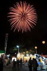 大垣市政100周年記念事業 第37回もんでこかみいしづ2018 もんでこ花火大会