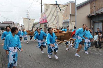 飯津佐和乃神社 御船神事