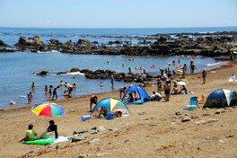 【海水浴】海鹿島海水浴場