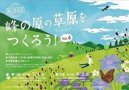 ガイド付き 草原の山野草観察会
