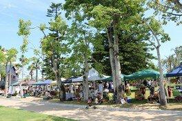 青島サンデーマーケット(7月)