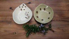 陶芸体験 ~オリジナル模様のかわいい豆皿を作ろう!~(8月)