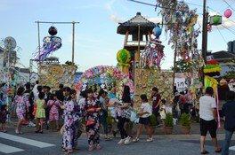 宇佐市七夕夏祭り