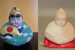 夏休み子ども手作り体験「博多人形絵付け体験」
