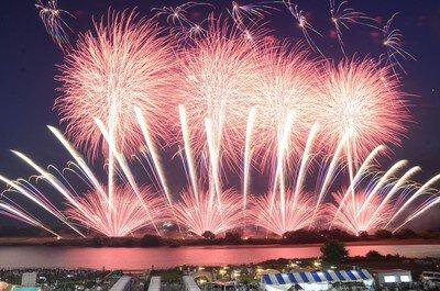 【2020年中止】第35回利根川大花火大会