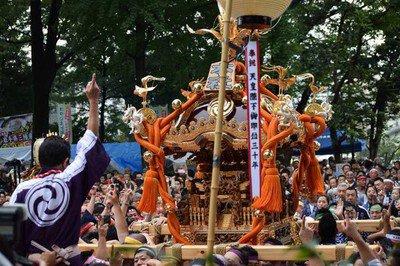 北澤八幡神社例大祭