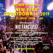 WOMB PRESENTS  NEW YEAR COUNTDOWN TO 2019