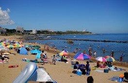 【海水浴】長崎海水浴場