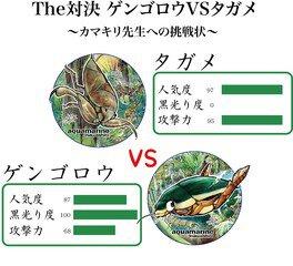 The対決ゲンゴロウvsタガメ~カマキリ先生への挑戦状~