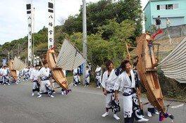 大江八幡宮の御船神事