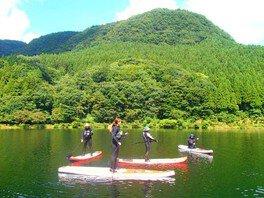 「新緑レイクSUP体験」 碓氷軽井沢 アウトドア自然体験