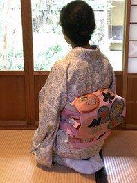 気軽な「着物」着付けレッスン(8月)
