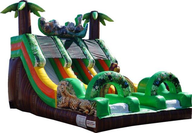 ふわふわジャングルスライダー 〜色んな動物がいるスライダーで遊ぼう!〜<中止となりました>