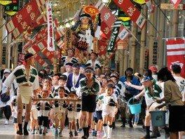 第62回飯塚観光子ども山笠大会