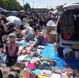 ホームセンタームサシ貝塚 フリーマーケット(8月)