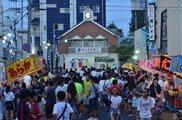 駒まね:八重垣神社 市場祭り:本町通り商店街