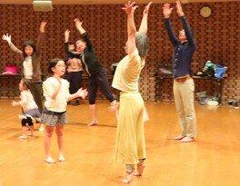 即興音楽とダンスのワークショップ