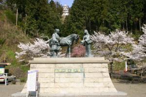 【桜・見ごろ】郡上八幡 城山公園
