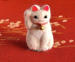 猫毛フェルトの教室 飯田橋「招き猫毛」