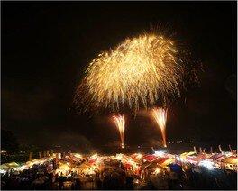 【2020年中止】二市一ヶ村日橋川「川の祭典」花火大会