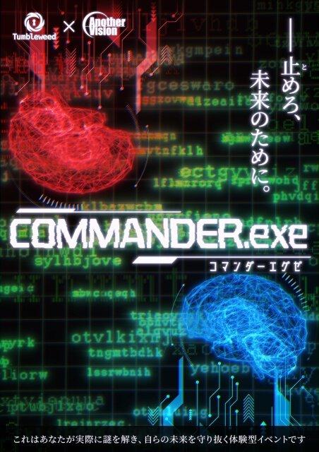 リアル謎解きゲーム「コマンダーエグゼ」追加公演