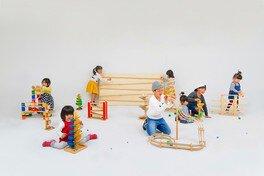 コロコロ探検ランド ~ 木のおもちゃで楽しくコロコロしよう! ~