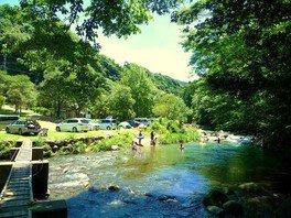 水恋鳥広場 川遊び