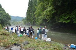 鞍岡地区釣り大会
