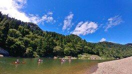 米代川カヌーツーリング(10kmコース)