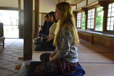 正受庵 座禅体験と法話会(9月)