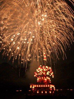 【2020年中止】蘇水峡川まつり花火大会