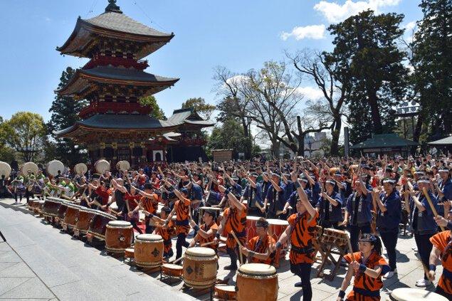 第32回成田太鼓祭<中止となりました>