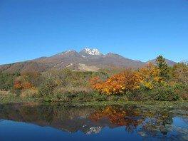 妙高高原(いもり池)の紅葉
