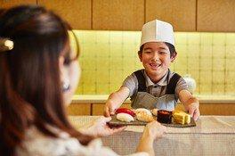 親子握り寿司作り教室