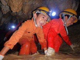 南の島の洞くつ探検