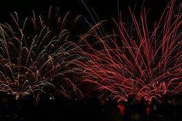 【2020年開催なし】咲花温泉水中花火大会