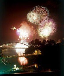 【2020年花火の打ち上げは中止】第82回霊まつり 流灯花火大会