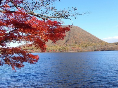 榛名山・榛名湖の紅葉