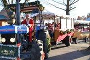 まかいの牧場 クリスマスパレード