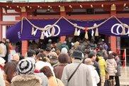 亀山神社 大祓祭・除夜祭・歳旦祭