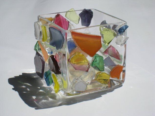 モザイクガラスでオリジナルグッズづくり