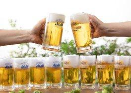 ビールと相性抜群の料理が味わえる