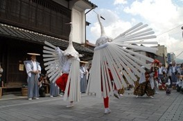 祇園祭 鷺舞神事