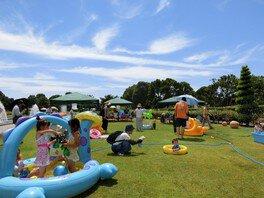 神戸市立須磨離宮公園 ちゃぷちゃぷプールで遊ぼう