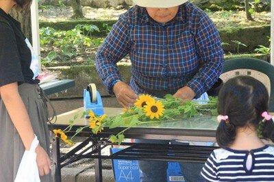 夏の花摘み園(8月)追加開催