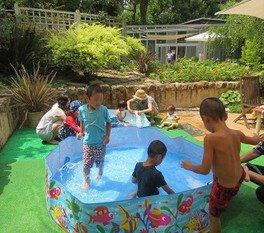 【プール】ジャブジャブプール 堺市都市緑化センター
