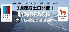 水と土の芸術市民プロジェクト「夏の終わりの砂浜フェスティバル」
