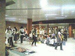 駅ナカフリマ in 馬車道駅(8月)