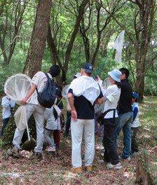 昆虫観察会(8月)