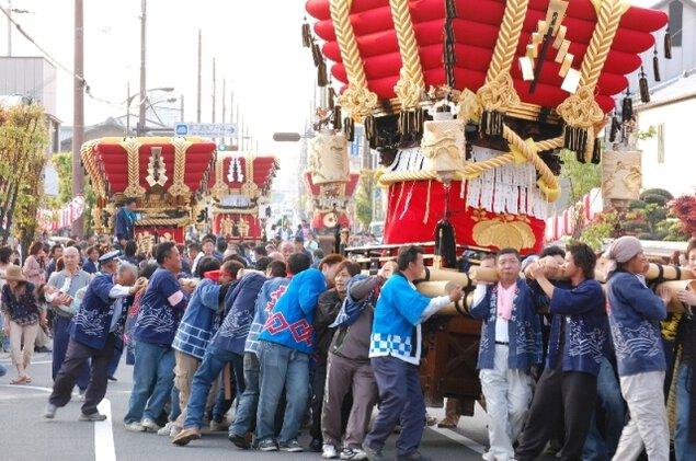 志筑八幡神社 春季例祭
